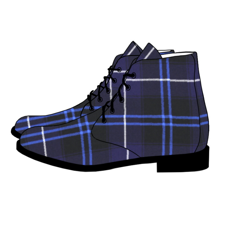 Men's Tartan Boots in Patriot Modern