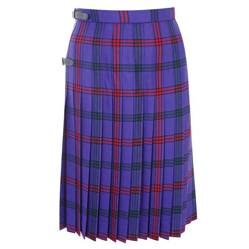 Montgomery Modern Tartan Kilted Skirt