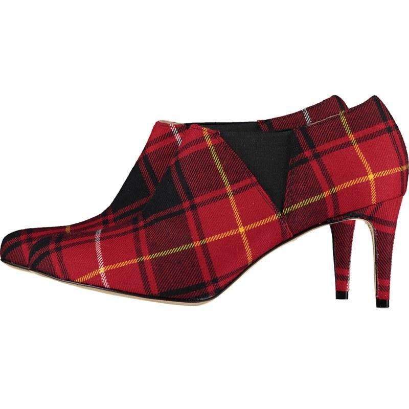 Women's Tartan Boots Narrow Heel   Über 500 tartans
