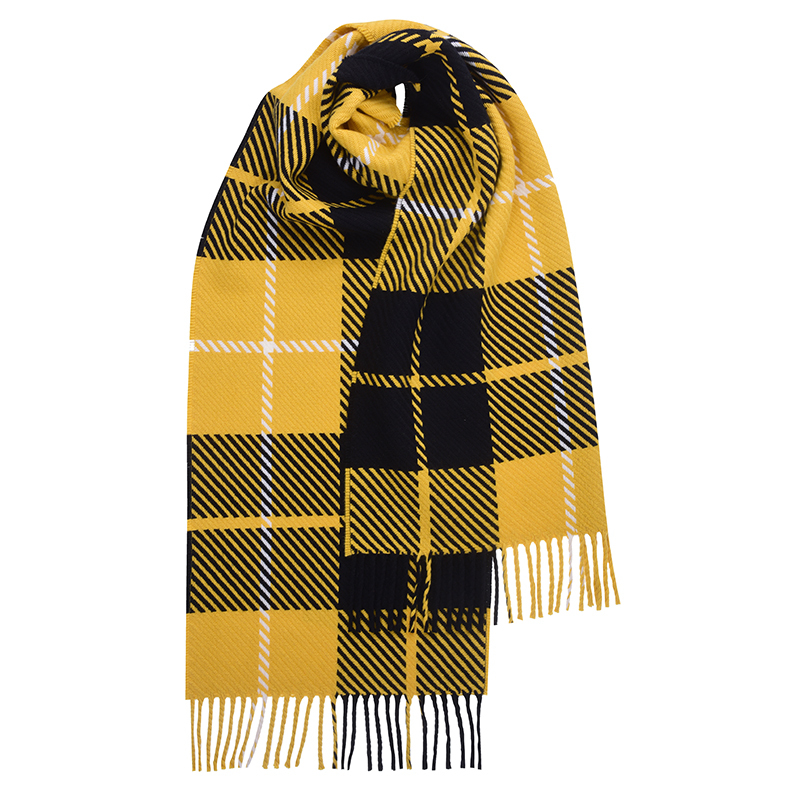 Oversized Check Plaid Scarf