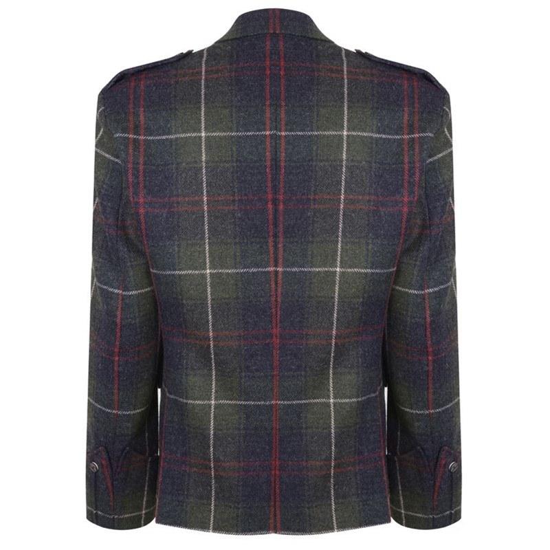 Patriot Talla Tartan Argyll Jacket Back