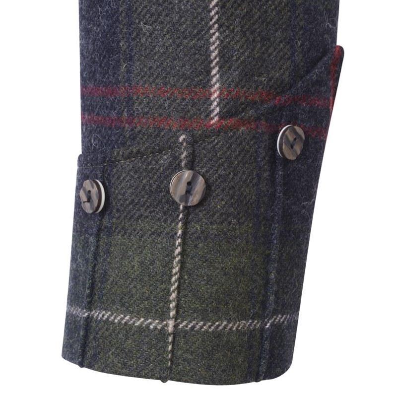 Patriot Talla Tartan Argyll Jacket Sleeve