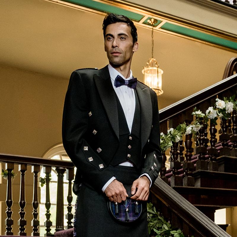Prince Charlie Jacket And Waistcoat