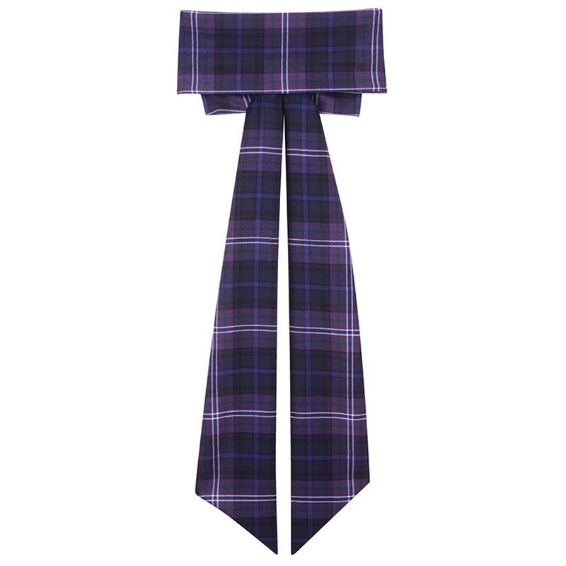 Scotland Forever Girls Wool Tartan Sash With Bow 2