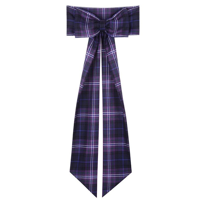 Scotland Forever Girls Wool Tartan Sash With Bow