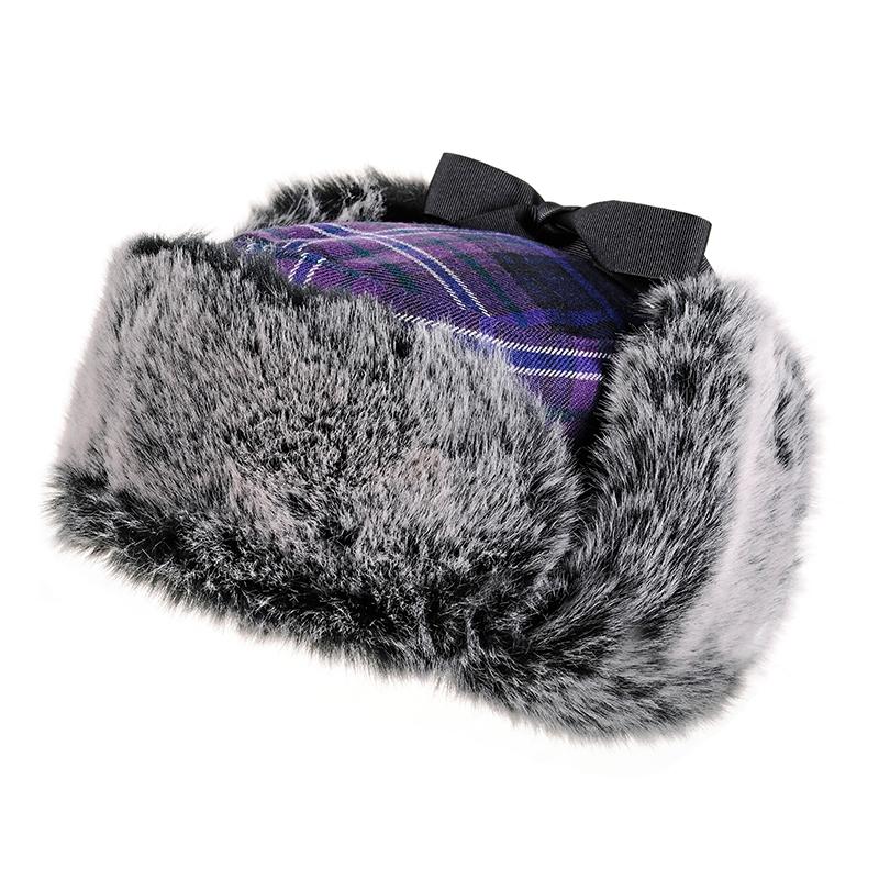 you choose the details! Custom Baby Boy Plaid Trapper Hat