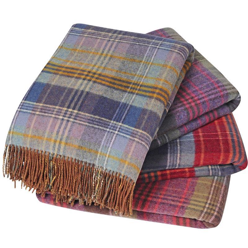 Scottish Heritage Reversible Lambswool Throw