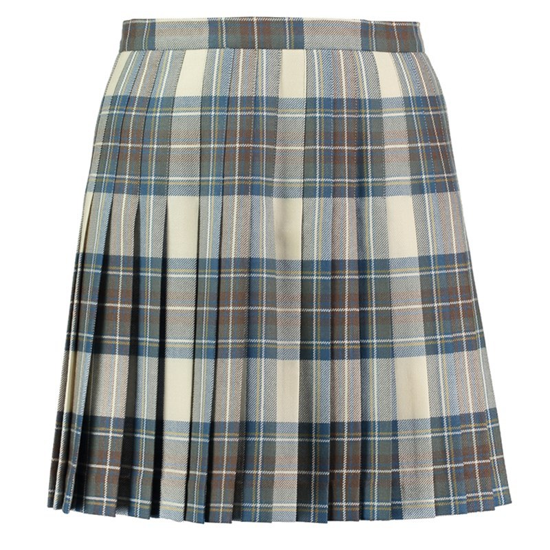 Stewart Dress Weathered Tartan All Round Pleated Skirt