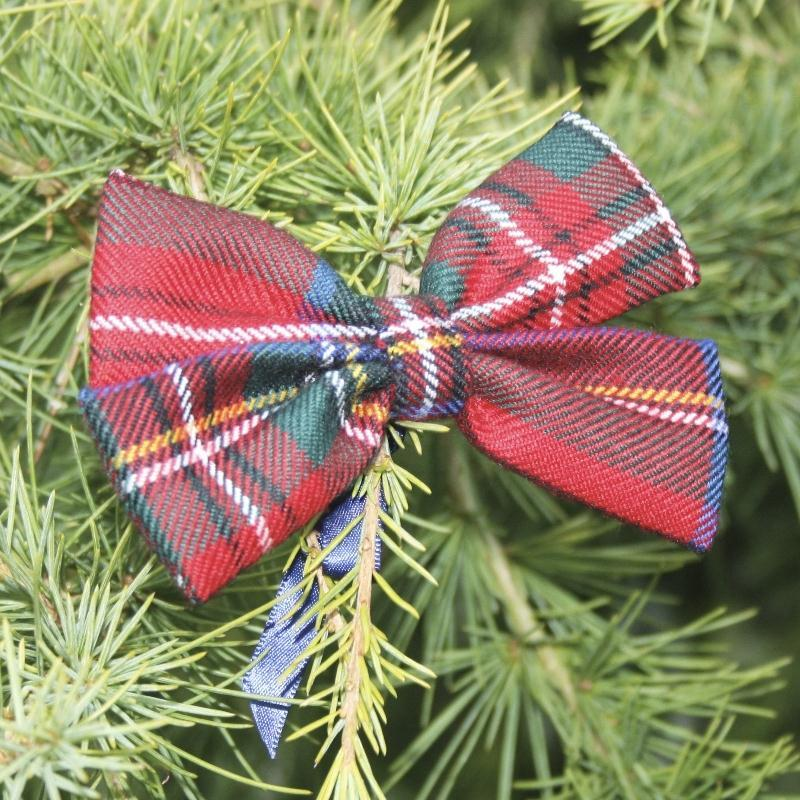 Stewart Royal Tartan Bow Decoration