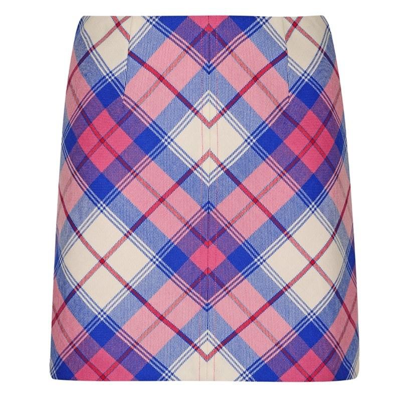 Sunart Sapphire Tartan Mini Skirt