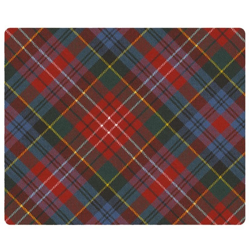Plaid Tablemats in Caledonia Modern