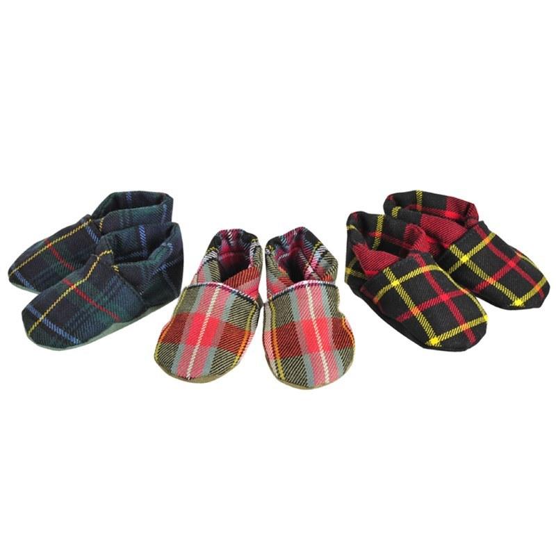 Tartan Baby Shoes 1