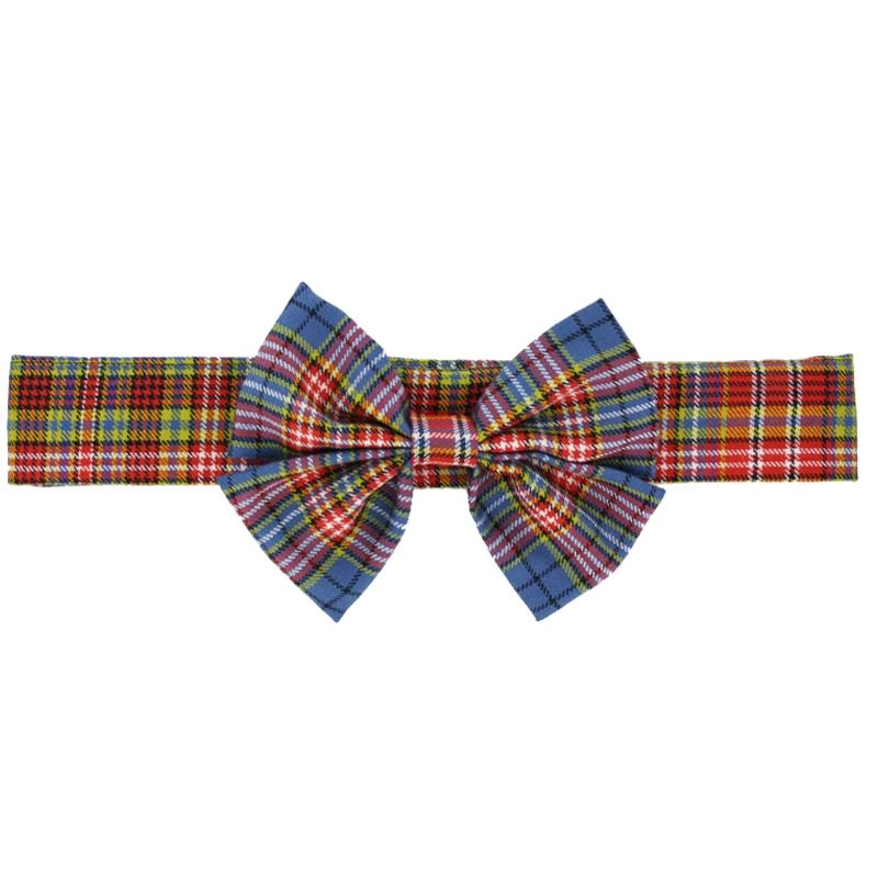 Tartan Bow Belt