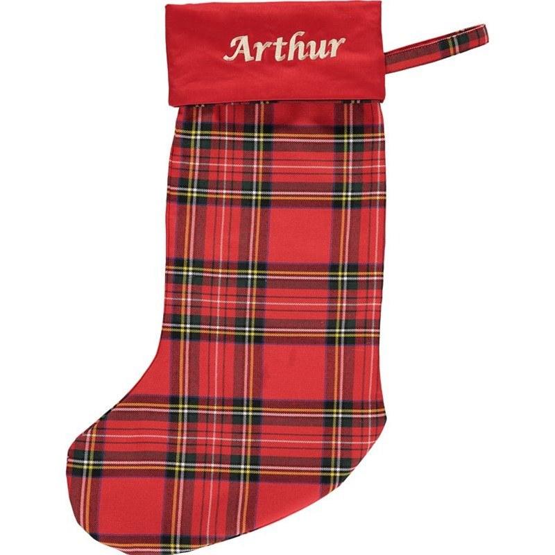 Christmas sock,stocking,xmas,red,white,black,bow tie,felt fabric,tartan fabric