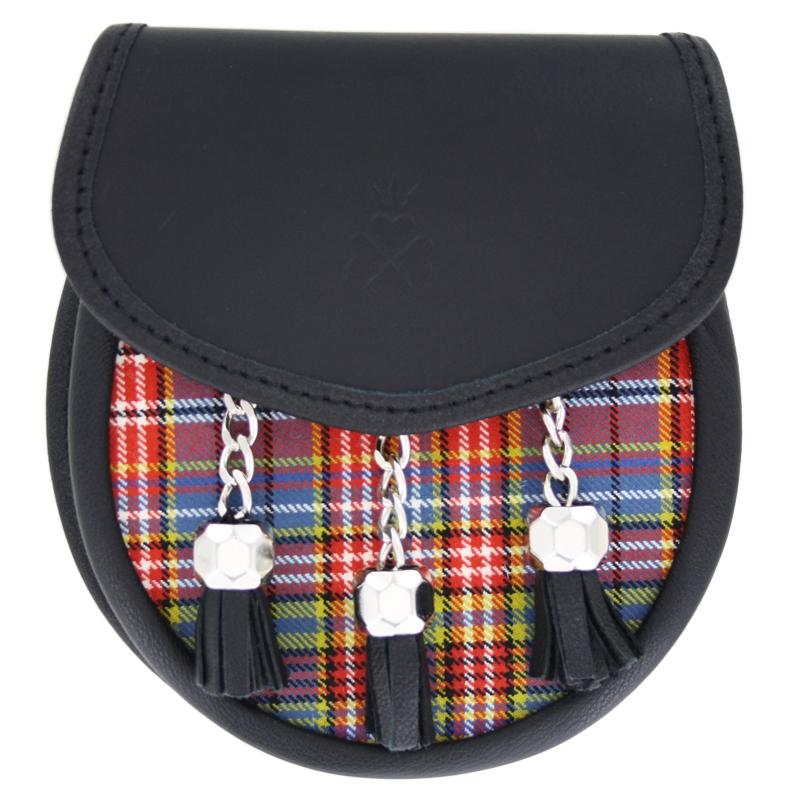 Tartan Sporran Bag in Ogilvie of Airlie Ancient