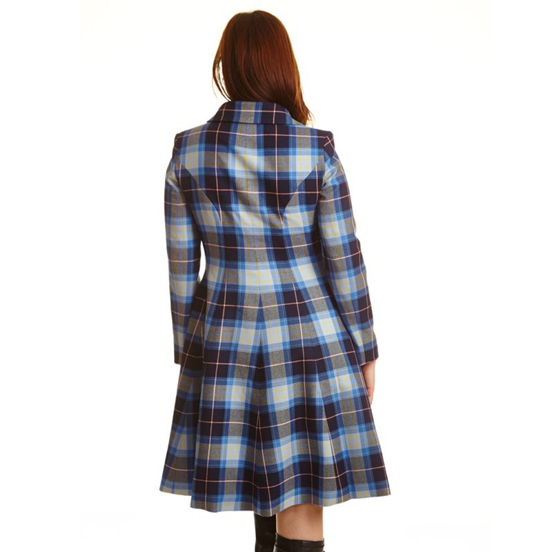 The Kate Coat In Tartan 4