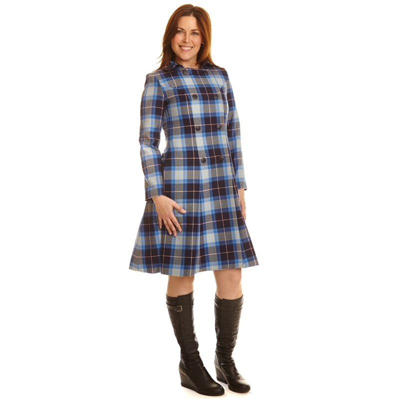 The Kate Coat In Tartan