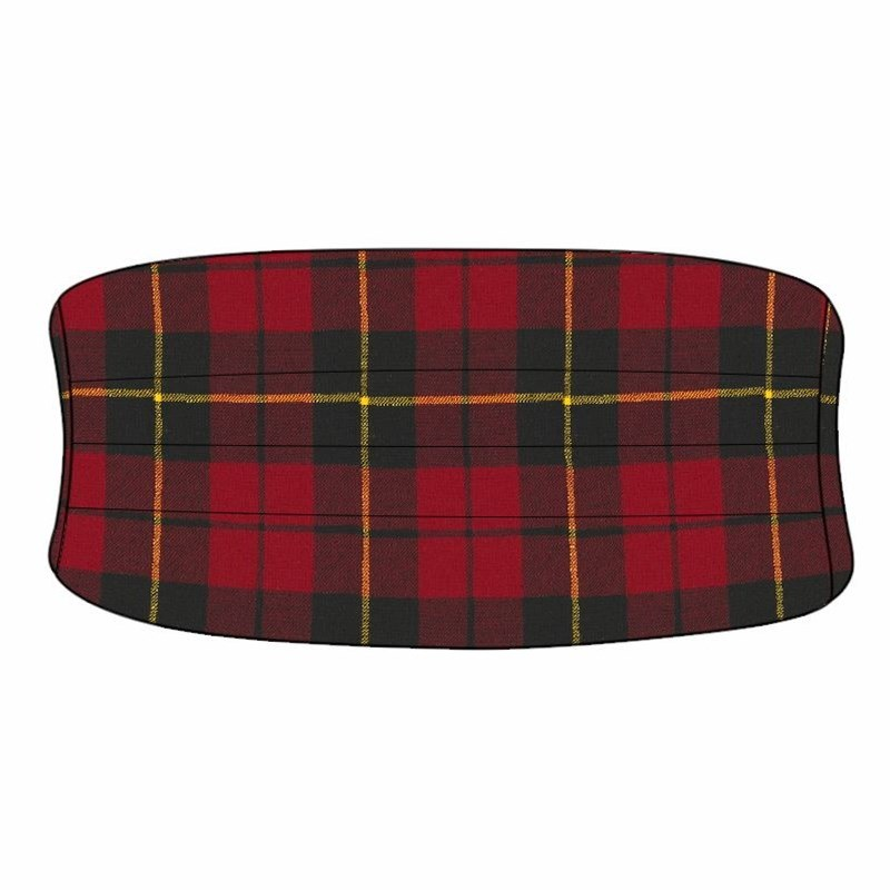 Cummerbund en laine ecossais in Wallace Modern