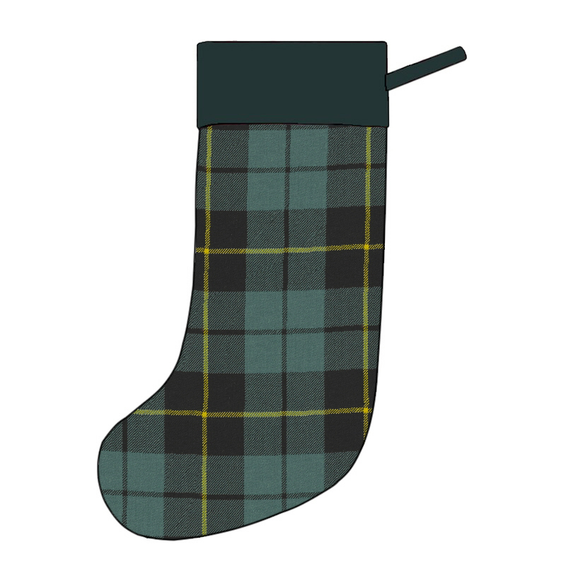 Tartan Christmas Stocking in Wallace Hunting Ancient