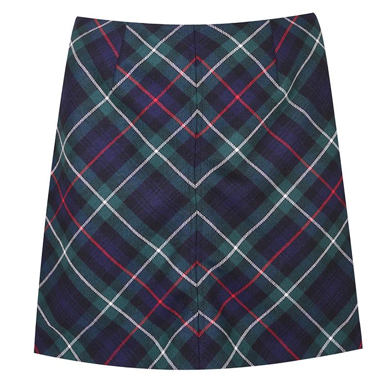 Tartan Mini Skirt in MacKenzie Modern
