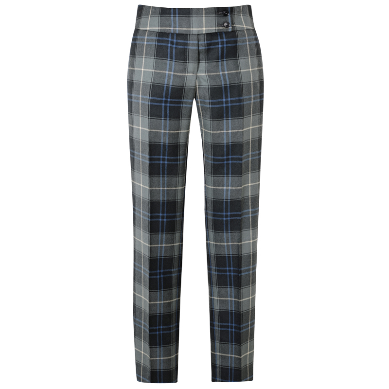 Womens Tartan Trousers Patriot Weathered
