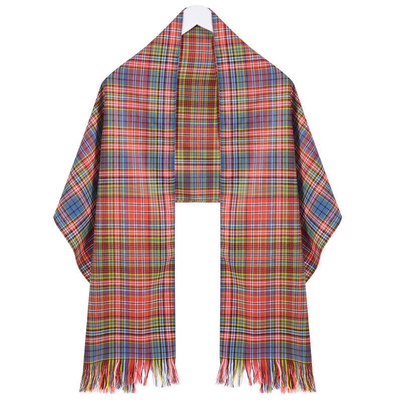 Wool Tartan Stole in Ogilvie of Airlie Ancient