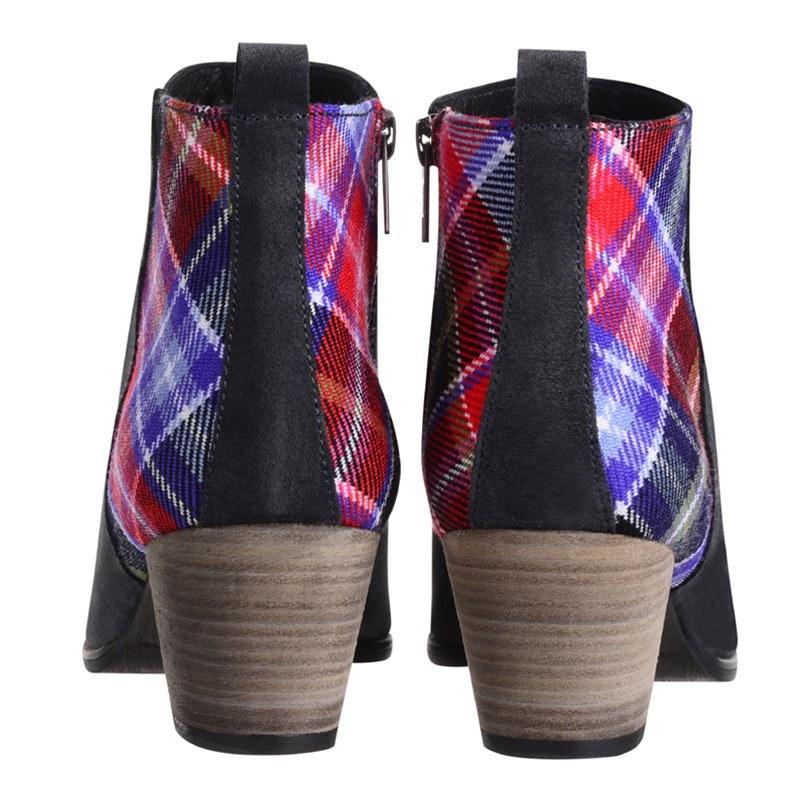 Aberdeen Tartan Boots Heels