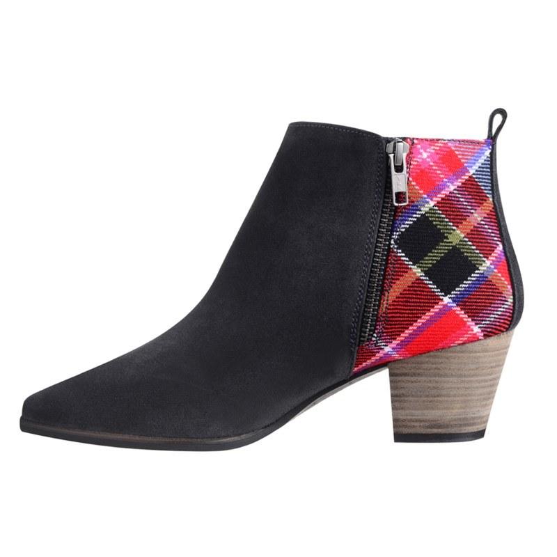 Aberdeen Tartan Boots Zip