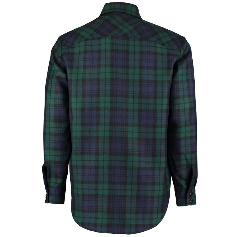 Black Watch Modern Tartan Shirt Back