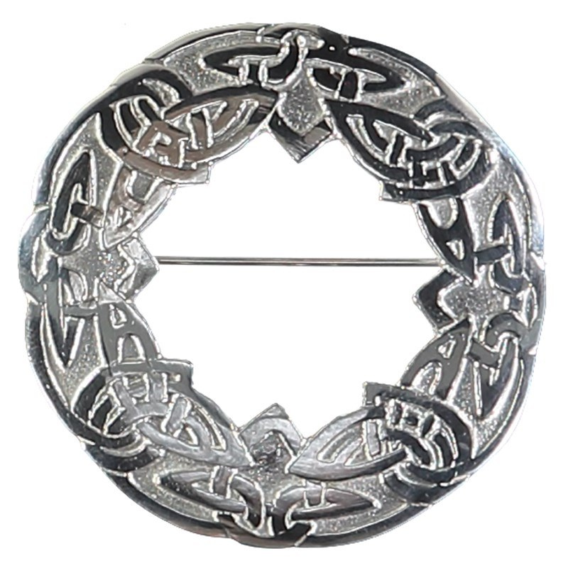 Celtic Brooch in Silver