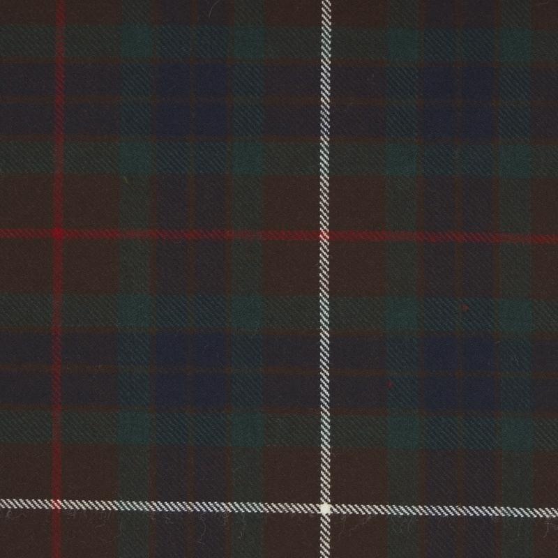 Tartan Fabric on Sale in Fraser Hunting Modern