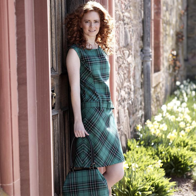 Maclean Hunting Tartan Shift Dress