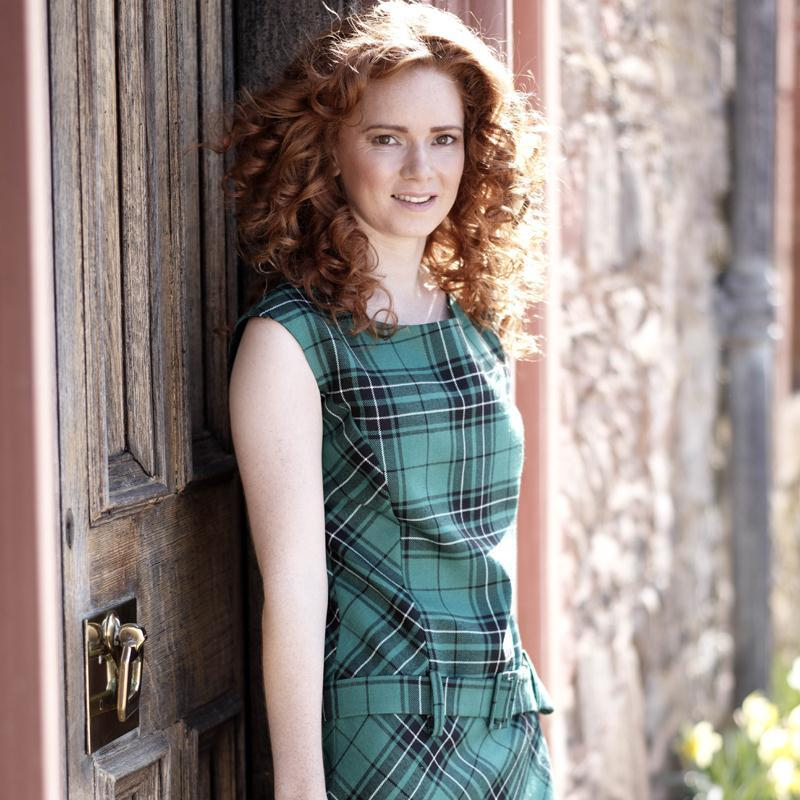 Maclean Hunting Tartan Shift Dress1