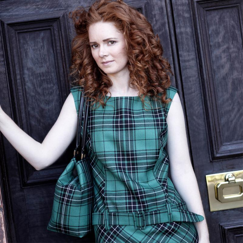 Maclean Hunting Tartan Shift Dress2