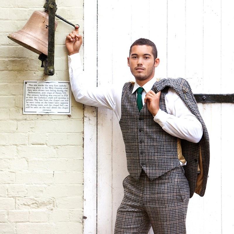 Mens Tweed Waistcoat2