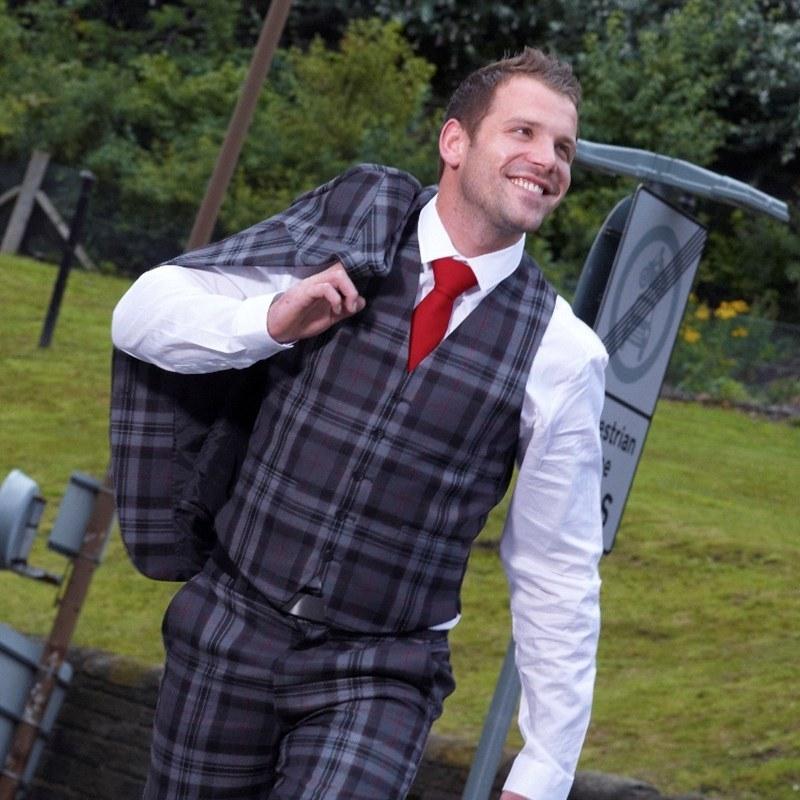 Pride Of Scotland Silver Waistcoat