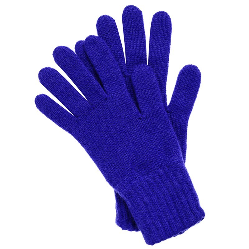 Women's Everyday Cashmere Gloves in Royal Blue