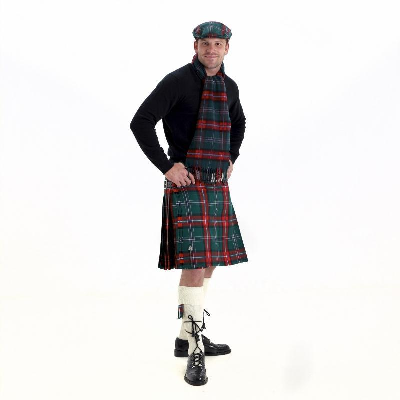 Scottish National Tartan Casual Kilt