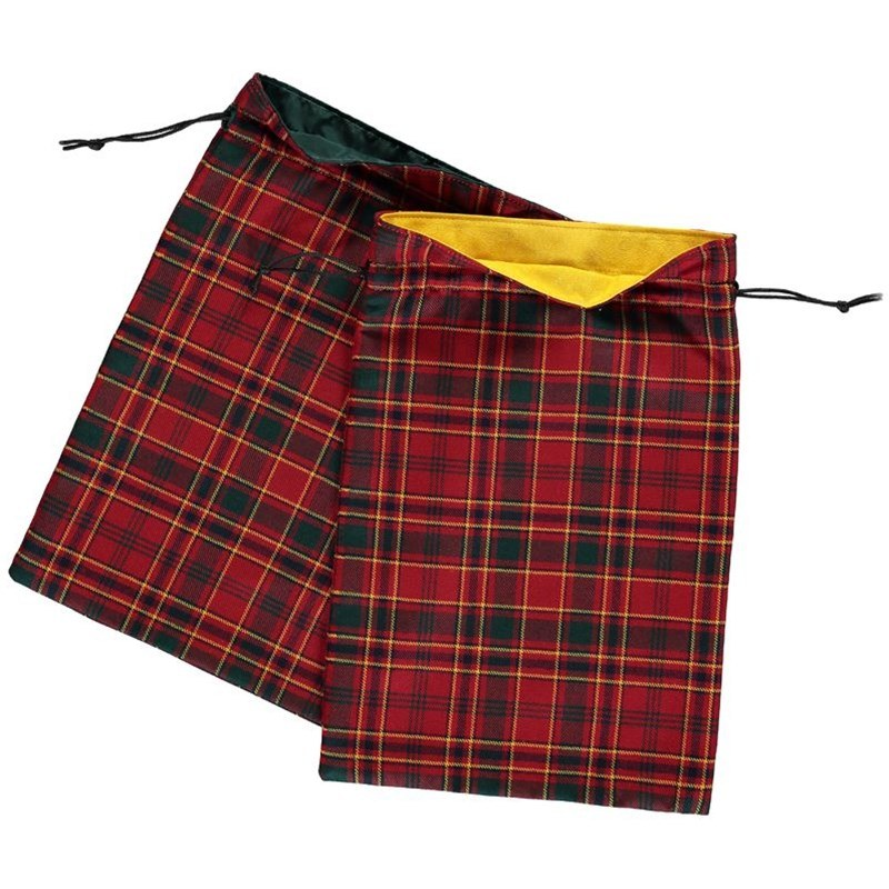Tartan Shoe Bag Linings