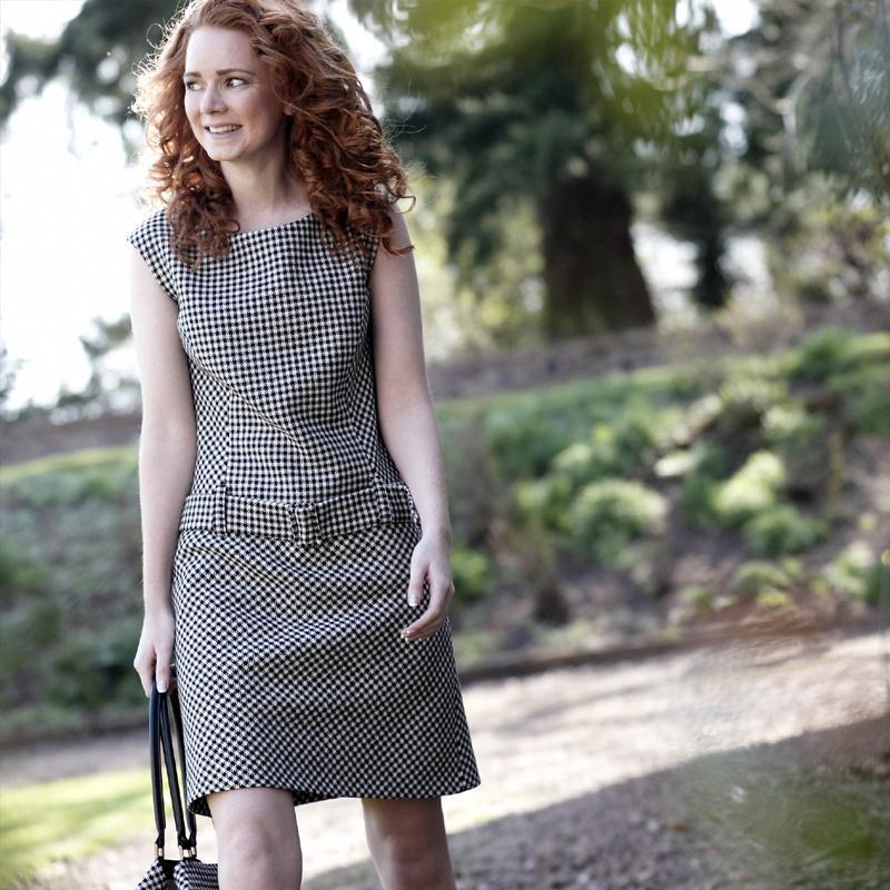 Tweed Shift Dress2
