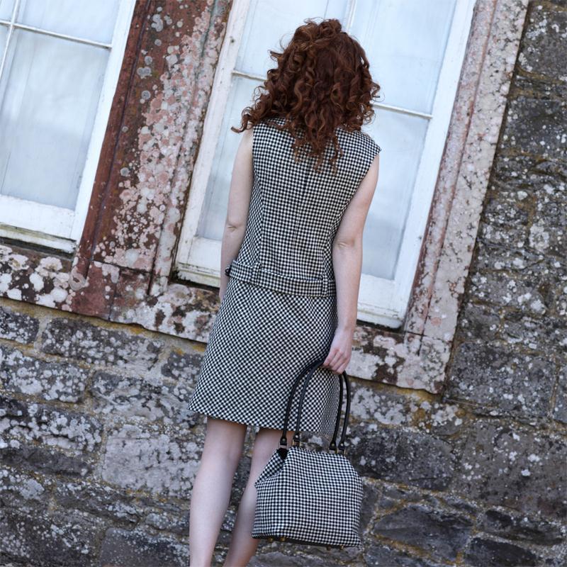 Tweed Shift Dress3