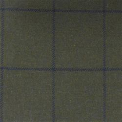 Teviot Green Navy Tweed Check 986
