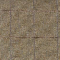 Teviot Brown Tweed Check with Red/Blue 951