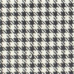 Kirkton Black and White Tweed Check 578