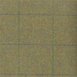 Teviot Green Tweed Check 955