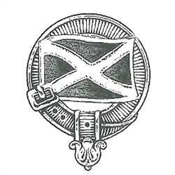 Saltire Clan Crest