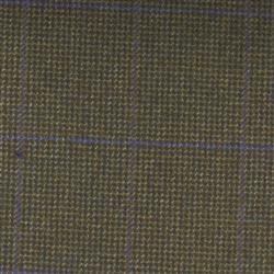 Teviot Green Purple Tweed Check 985