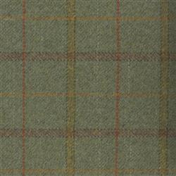 Teviot Green Tweed Check 971