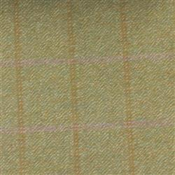Teviot Light Green Pink Tweed Check 976