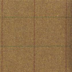 Teviot Bracken Brown Tweed Check 956